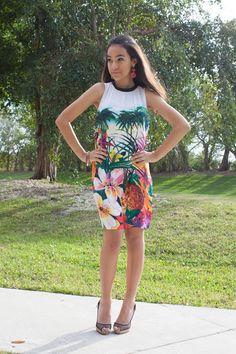 Juicy Couture shift dress. Stylishlyinlove.blogspot.com