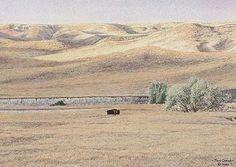 John Crane, Poster Prints, Art Prints, Fence, Watercolor, Places, Artist, Painting, Crafts