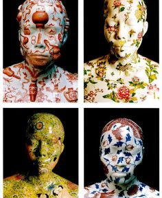 Ah Xian Porcelain Life Castings #art #design