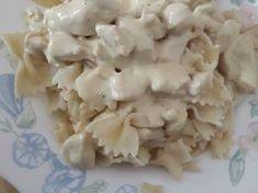 Μακαρόνια αλά κρεμ με κοτόπουλο Feta, Dairy, Cheese