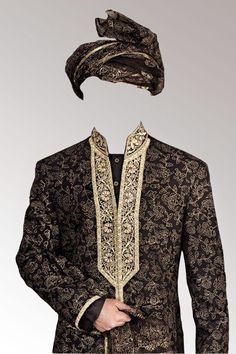 Pakistani And Indian Groom Dress Psd File
