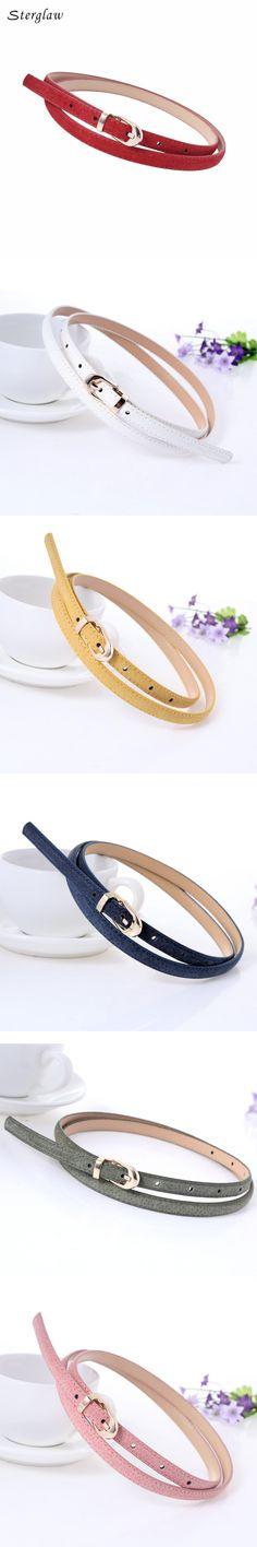 new Frosted pigskin leather belts for women dresses 2017 Hot Products solid jeans belt ceinture femme kemerler sterglaw D218