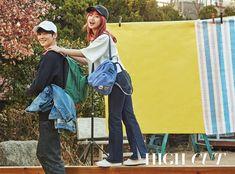 Eunwoo (Astro) & Yoojung (Weki Meki) - High Cut Magazine vol. Kpop Girl Groups, Kpop Girls, Boy Groups, Instyle Magazine, Fandom Kpop, Choi Yoojung, Eunwoo Astro, Cha Eun Woo Astro, Kim Doyeon
