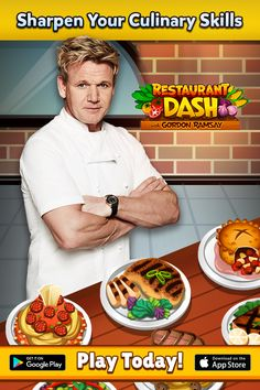 Travel around the globe and master your skills in unique restaurants with Gordon Ramsay as your guide! Build your restaurant empire and battle friends! Download Today!