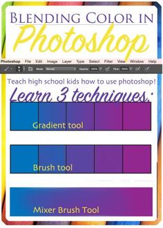 Learn how to blend color in Photoshop with these 3 fantastic tools!