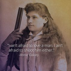 Born on August 13, 1860, Annie Oakley gained fame for her unparalleled shooting skills, later becoming the star of Buffalo Bill's Wild West Show for 17 years. By age 15, Oakley paid off the mortgage for her mother's home by shooting small game for a local grocery store.  Watch this clip to learn more about the globally renowned folk hero: https://curiosity.com/video/biography-annie-oakley-tomboy-bio/?ref=sp&utm_source=pinterest&utm_medium=social&utm_campaign=081314pin