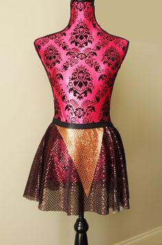Ewok Skirt, Star Wars Skirt, Ewok Costume, Running Skirt, Sparkle Running Skirt, 5K Skirt, Race Skirt, Princess Skirt