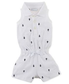 Ralph Lauren Baby Girls Dress Baby Girls Sparkle Polo Dress Kids