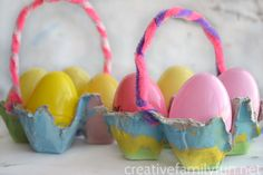 Easter is almost here and we're wrapping up all of the fun Easter crafts and activities for you to do