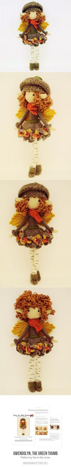 Gwendolyn, The Green Thumb Amigurumi