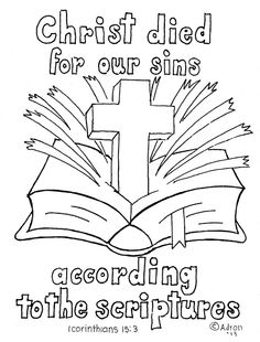 Coloring Pages For Kids By Mr Adron 1 Corinthians 153 Print And Color Page You Can This From My Blog The It