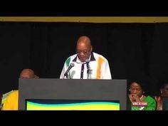 Zuma fumbles as he clarifies ANC membership numbers - YouTube