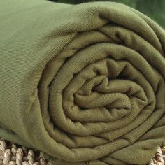 7f7794c62e5 BAMBOO Stretch Jersey Fabric Capulet Olive 18-0426 Bolts from $ 7.12/yard