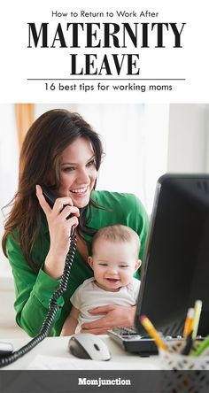 Work After #Maternity-Leave : You never thought that going back to work would be this difficult, did you? Now that the time approaches, you are filled with dread and apprehension. You are not alone. The very thought of leaving their little one behind can fill new mothers with anxiety.Here are the tips to make your returning to work after maternity leave easier.