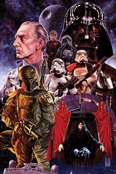 The Empire Strikes Back - Mark Brooks