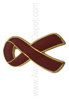 Burgundy ribbon for multiple Myeloma