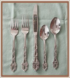 """Oneida Chandelier Stainless Steel Betty Crocker Flatware ~ from """"Cobayley Vintage Jewelry Antiques Collectibles"""" shop"""