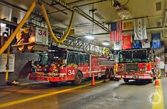 Chicago Fire Department Engine 72, Tower Ladder 34, and Ambulance 22.
