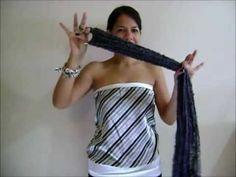 9  maneras de usar la bufanda de aro