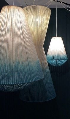 WAN INTERIORS PRODUCTS:: British Wool Lighting by Janie Knitted Textiles Ltd