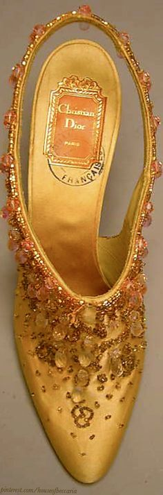 ~Vintage Roger Vivier, circa 1954 for Dior | House of Beccaria