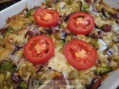 Cheesy Chipotle Broccoli