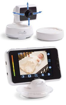 Wireless video baby monitors reviewed - this one's the Summer Infant