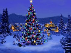 Pleasant Exclusive Nice Animated Christmas Tree Wallpaper Christmas Tree Easy Diy Christmas Decorations Tissureus