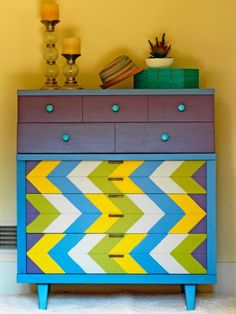Find unique ideas for reinventing old dressers and turning salvaged items into stylish headboards.