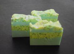 Homemade Poppy Seed Body Soap Pearberry Type Handmade Soap