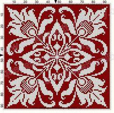 ru / Фото - Le Filet Ancien V - gabbach Cross Stitch Borders, Cross Stitch Charts, Cross Stitch Designs, Cross Stitching, Cross Stitch Embroidery, Embroidery Patterns, Cross Stitch Patterns, Filet Crochet Charts, Crochet Cross