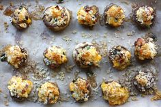 Jalapeno Bacon Stuffed Mushrooms-just put these in the oven but tried the stuffing...OMG good!