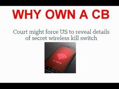 SOP 303  WHAT IS IT WHY SHOULD YOU BUY A CB RADIO