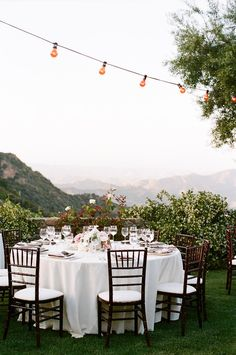 Mountain views would be a nice back drop for a reception