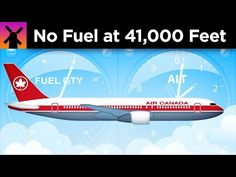 TIL in 1983 an Air Canada airplane ran out of fuel at 41000 feet due to a misconversion from imperial to metric. Run Out, Country Songs, Good To Know, Airplane, Thankful, Shit Happens, Running, Youtube, Learning
