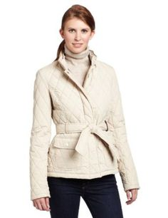 Tommy Hilfiger Women's Molly Spring Quilted Barn Jacket, Pumice, Large Tommy Hilfiger. $125.30