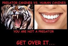 Tell me again that you're a carnivore