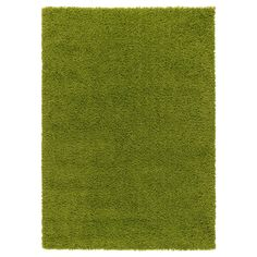 """HAMPEN Rug, high pile - bright green, 5 ' 3 """"x7 ' 7 """" - IKEA 