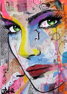 "Saatchi Art Artist Loui Jover; Drawing, ""buzz buzz"" #art"