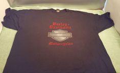 Harley Davidson T-Shirt Las Vegas Nevada 3X Black Mens