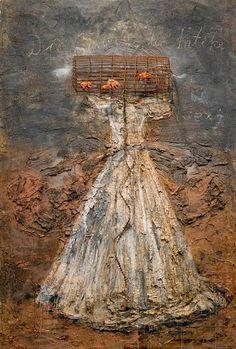 Anslem Kiefer ( de marzo de 1945 Donaueschingen, Alemania). Períodos: Arte contemporáneo, Neoexpresionismo, es un pintor y escultor alemán, adscrito al Neoexpresionismo, una de las corrientes del arte postmoderno surgida en los años 80.