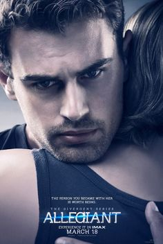 Theo James is Intense for Allegiant Posters