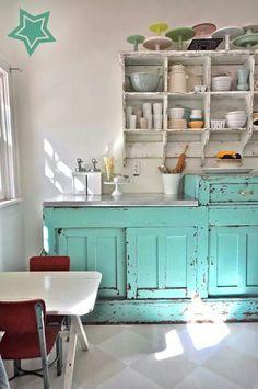 Very shabby kitchen
