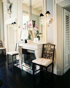 20 Great Fireplace Mantel Decorating Ideas | laurel home blog | JK Place Capri by Michele Bonan