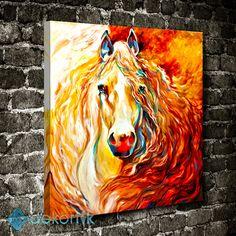 Abstract Horse Tablo #hayvan_tabloları