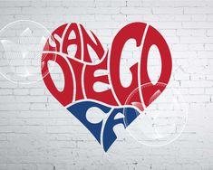 Excited to share the latest addition to my #etsy shop: Digital San Diego CA Word Art, San Diego CA jpg, png, eps, svg, dxf, San Diego CA logo design, San Diego California word in heart shape http://etsy.me/2HMIB8Z #supplies #blue #kidscrafts #red #sandiegocajpg #sandie