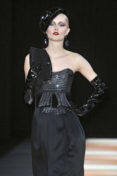 Giorgio Armani - Milan Fashion Week Fall, 2009