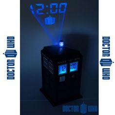 Un réveil projecteur Doctor Who, pour ne pas se perdre dans l'espace-temps !