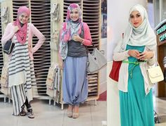 HIjab and Pants style