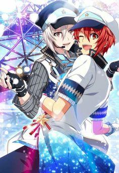 Manga Boy, Manga Anime, Anime Art, Anime People Drawings, Anime Siblings, Kawaii, Anime Music, Ensemble Stars, Shounen Ai